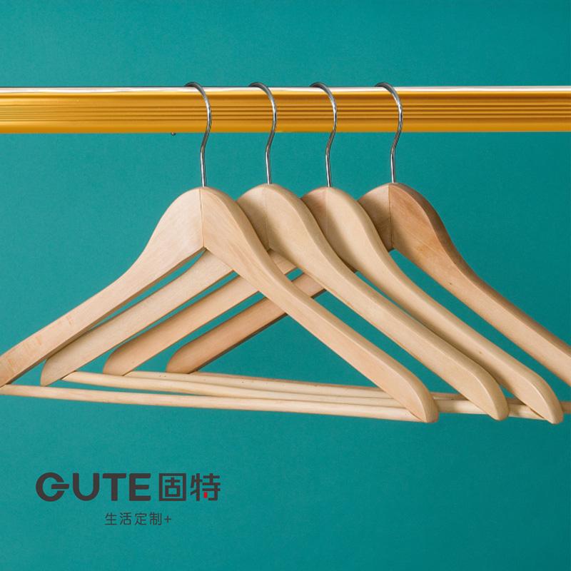 固特挂衣杆加厚衣柜内固定法兰座室内晾管横杆子衣橱配件长度定制
