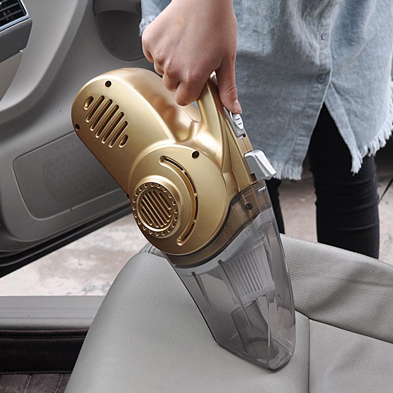 汽车用吸尘器 大功率12V手持家车干湿两用打充气泵四合一车载便携