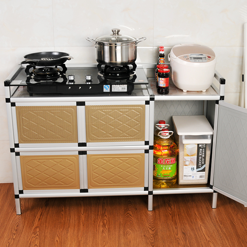 Easy Assembly Of Multi Function Cabinets Stove Gas Stove Small