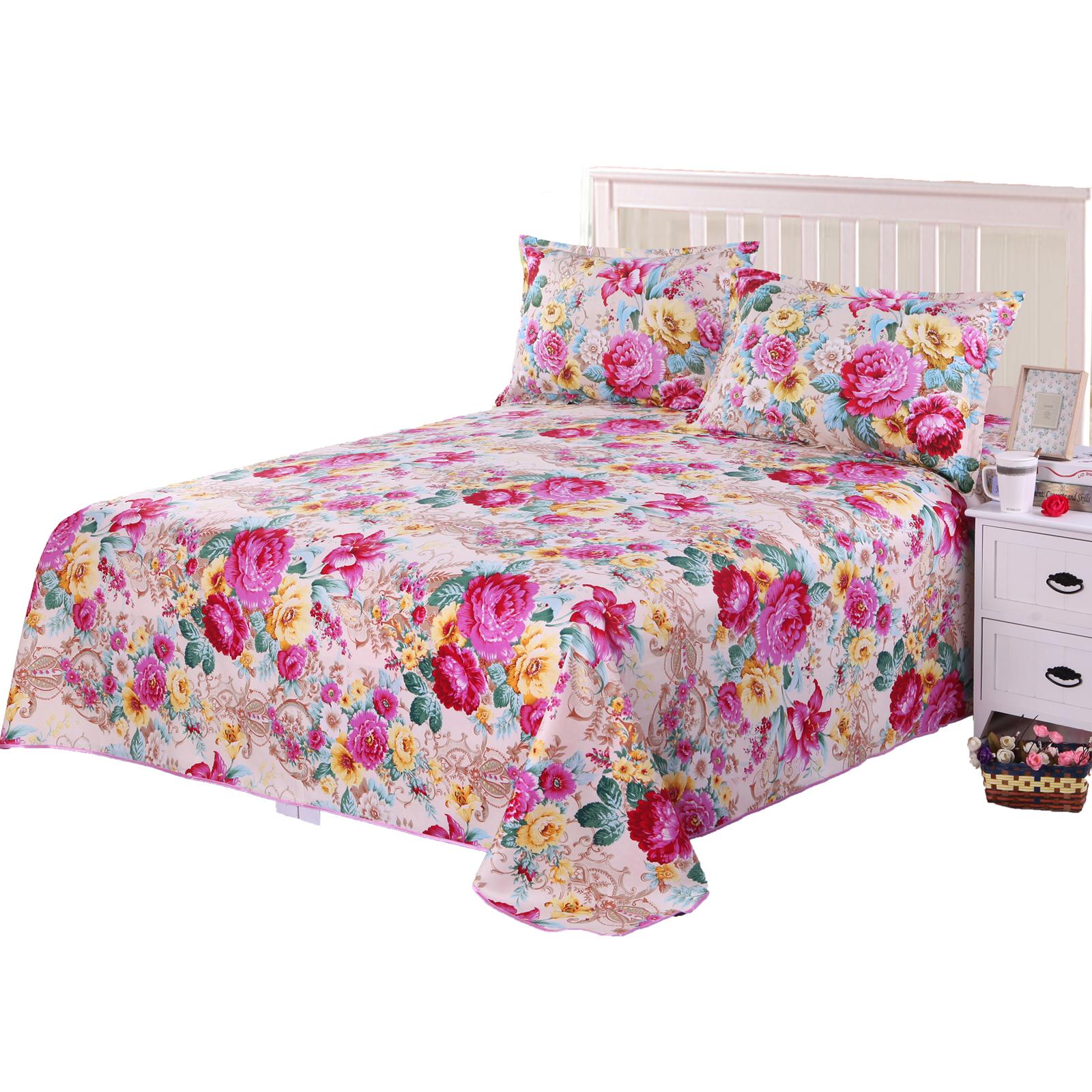 条纹床单单件1.2m1.5m1.8米床卡通蓝色宜家双人学生宿舍格子被单