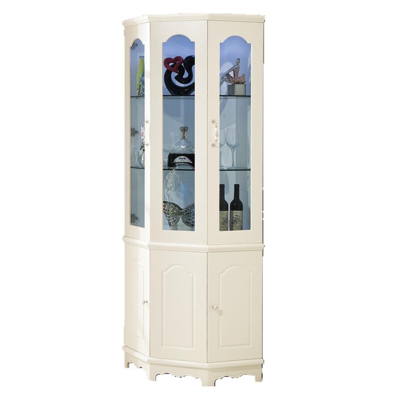 包送货包安装时尚三角柜转角柜酒柜现代简约客厅装饰柜玻璃墙角柜