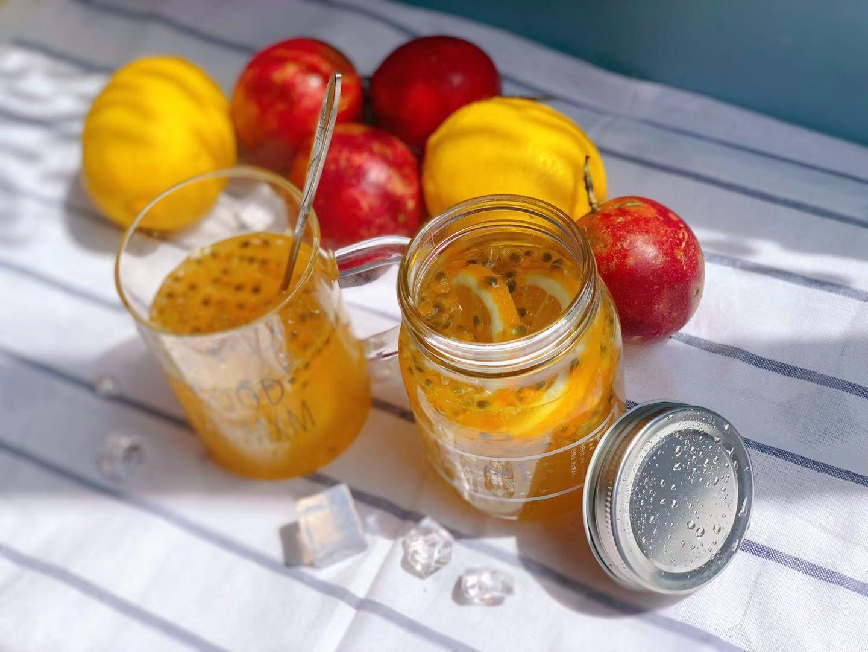 蜜小蜜家的蜜果缤纷蜜纯成熟椴树蜜补VC百香果柠檬果茶500g优惠券
