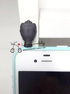钻石信誉!ANNA SUI/安娜苏 指甲油化妆镜造型IPHONE手机防尘塞