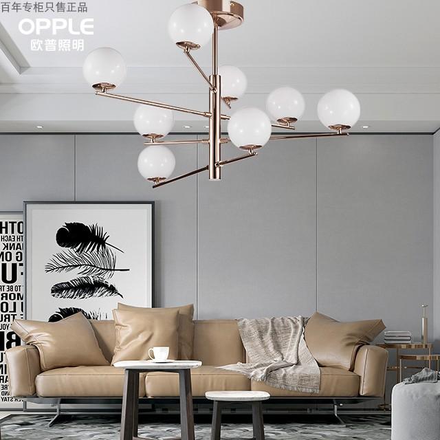 厅卧室书房玻璃球吊线灯具云梦