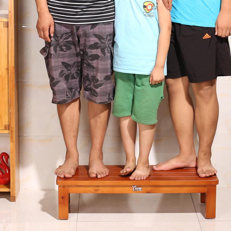 長凳條凳單踏腳踏腳凳實木家用小木凳床頭踏板防水防腐凳子墊高凳