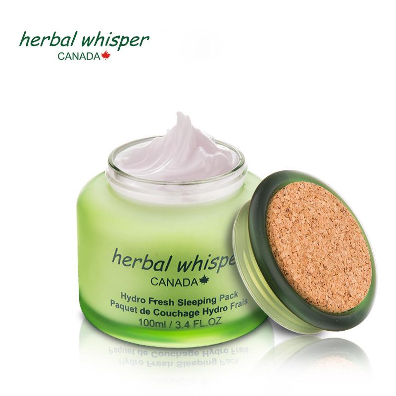 Herbal Whisper/荟诗水漾清润免洗睡眠面膜补水修护面膜保湿滋润优惠券
