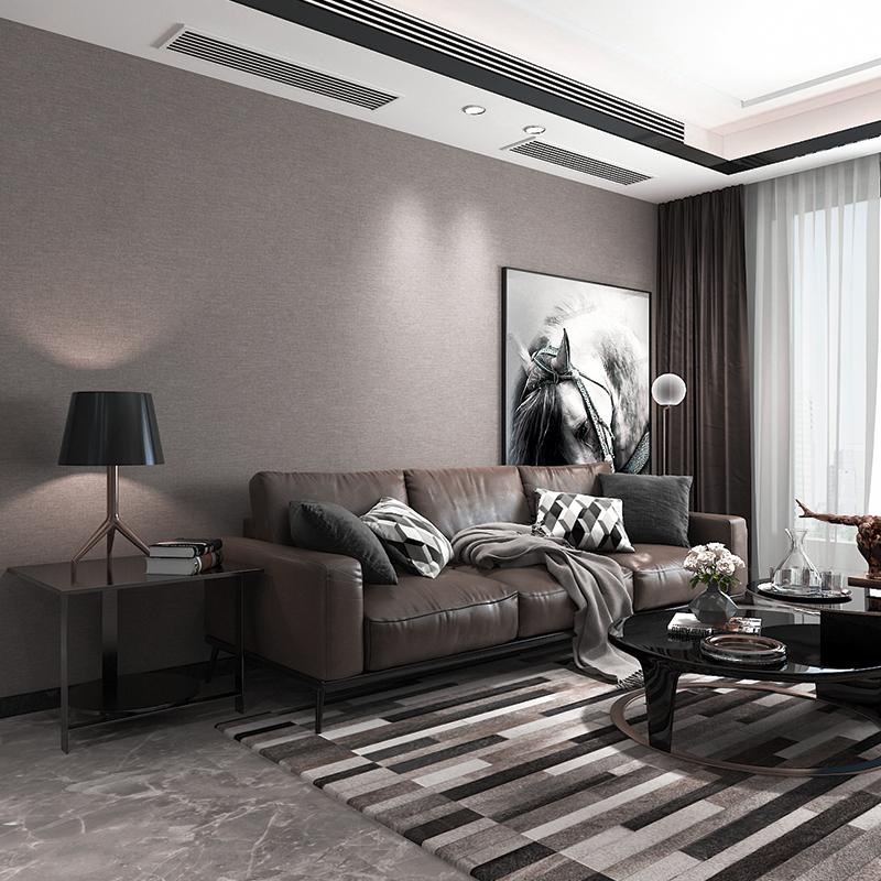 米素 北欧电视背景无缝墙布简约现代客厅卧室影视非墙纸壁布 米莱