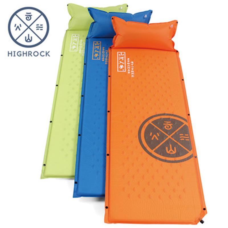 天石  自動充氣墊子可拼接 防水防潮睡墊 戶外衝氣地墊露營野營