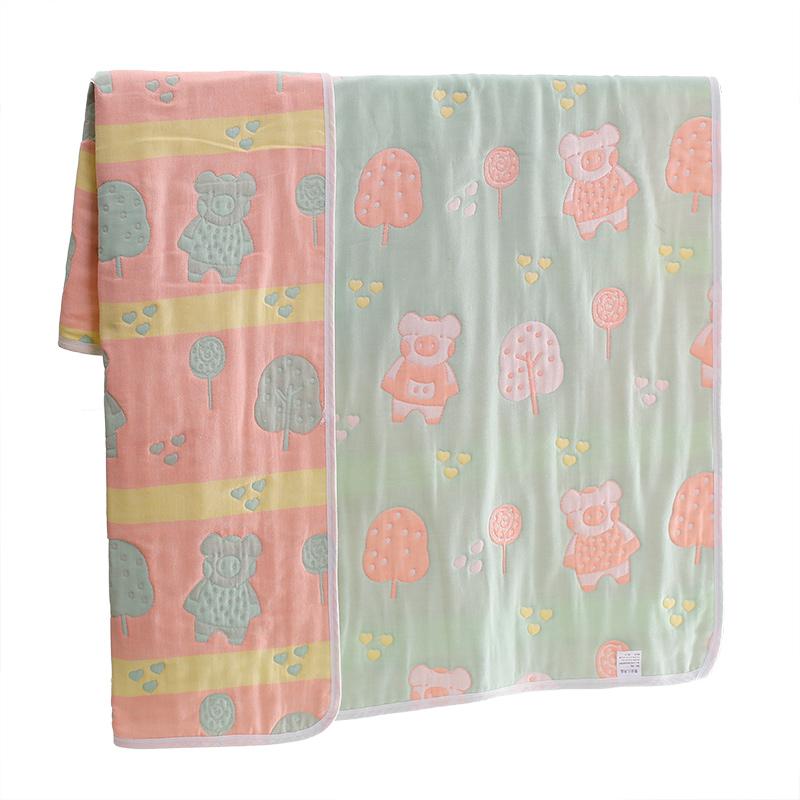初生婴儿抱被新生儿包被春秋薄款纯棉纱布夏季宝宝包巾产房包布裹