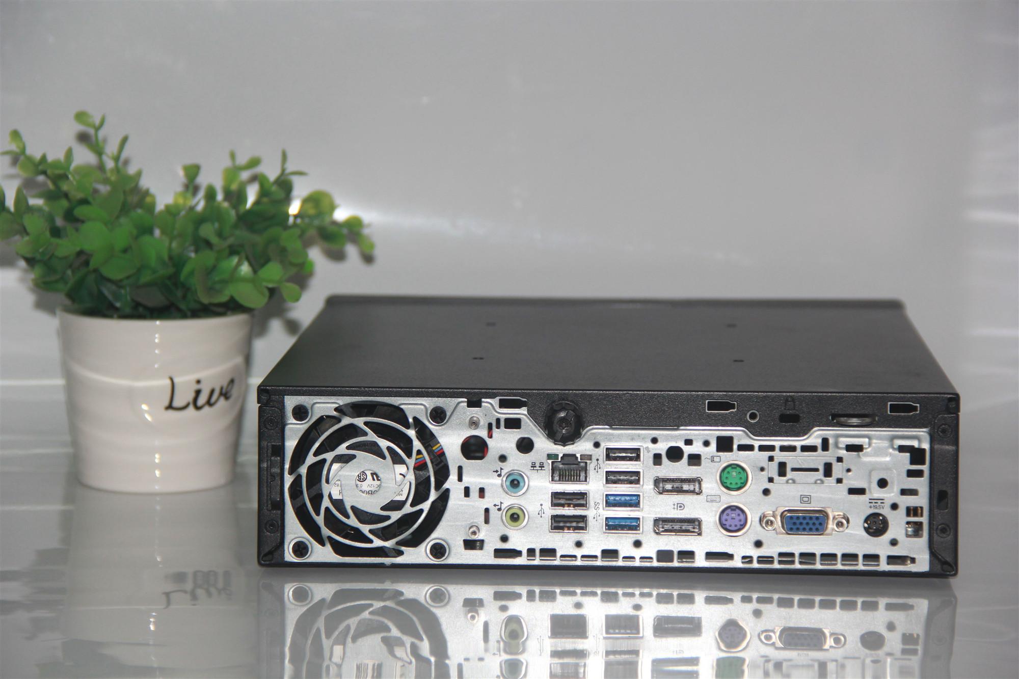 惠普800G1USDT迷你客厅小电脑高清i3/Ii5/i7双屏小主机准系统整机