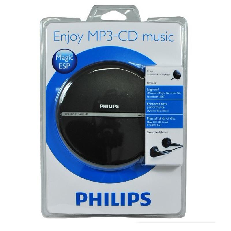 原装港行正品飞利浦CD机随身听大学英语MP3光盘CD播放器送电源