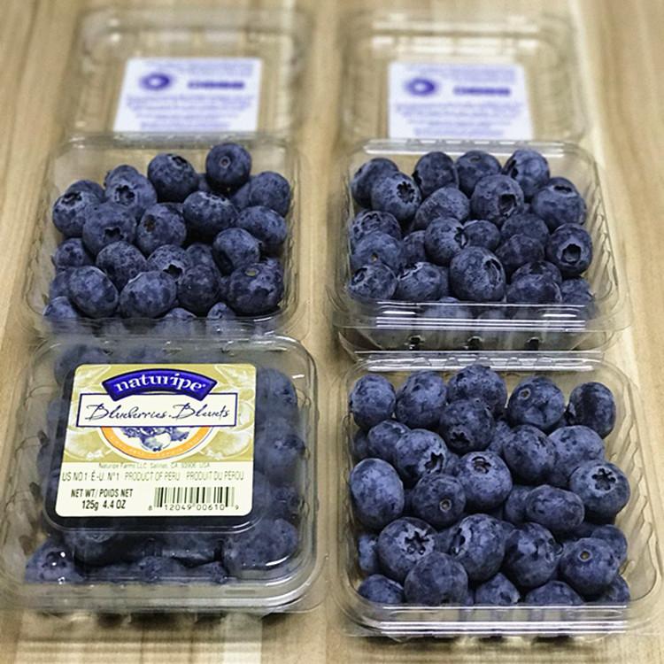 现货秘鲁蓝莓4盒蓝莓鲜果进口新鲜蓝莓宝宝辅食孕妇水果包顺丰