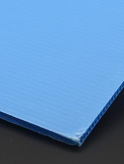 彩色pp塑料中空板瓦楞板万通板厂家直销规格不限可裁剪66CMX50CM