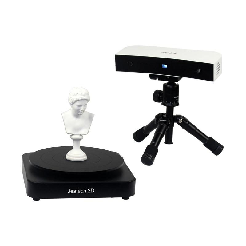 桌面蓝光白光3D扫描仪 三维扫描仪 抄数机 3D打印用  JTscan-DS