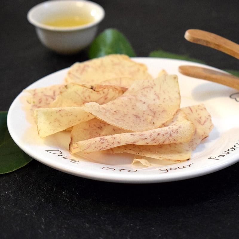 买3送1超薄椒盐芋头片咸味酥脆芋头干酥脆椒盐香芋片好吃的零食