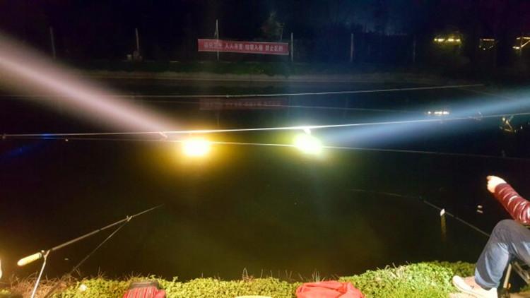 合金黑坑神器超越顶点小小唧呱疝气灯 480W 夜钓灯 400W 氙气钓鱼灯