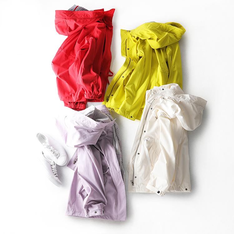 W 防风防水冲锋衣风衣 新型科技面料 选哪个颜色 纠结 贝丽花园
