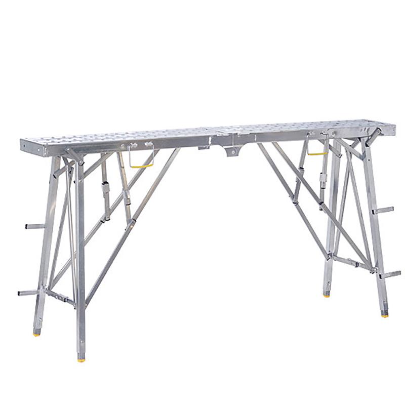 金璽馬凳折疊升降加厚平臺梯子工程裝修室內馬登家用刮膩子腳手架
