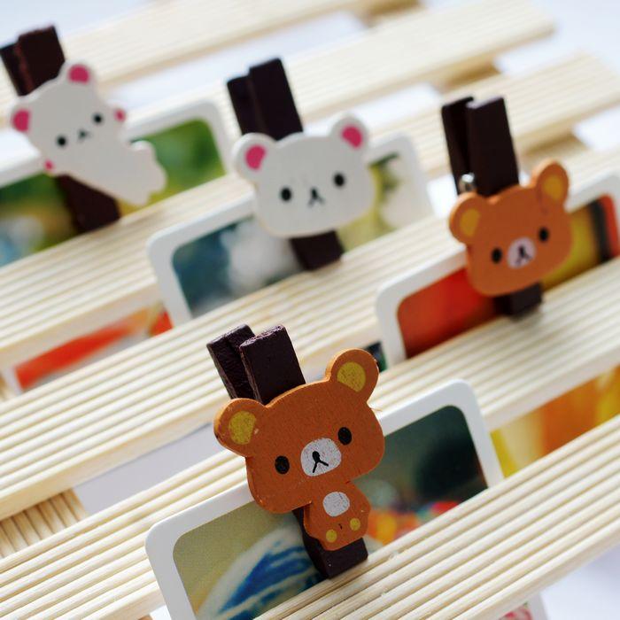 品唐 儿童 照片夹子 幼儿园用 创意 相片夹子 小夹子 明信片夹子1