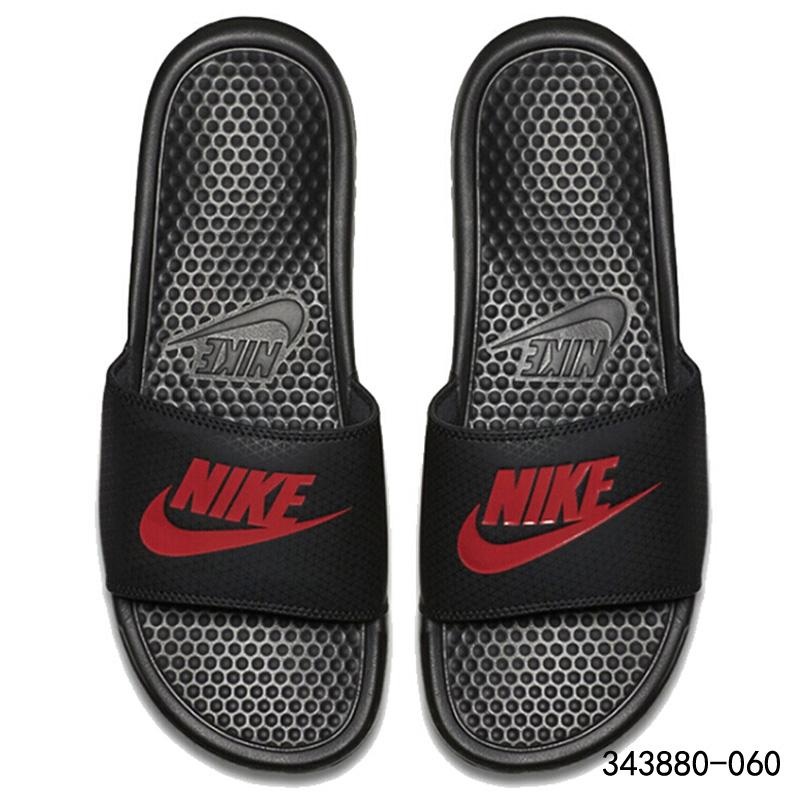 耐克男鞋2019夏季新款一字拖休闲防滑沙滩鞋运动凉拖鞋CJ4608-071