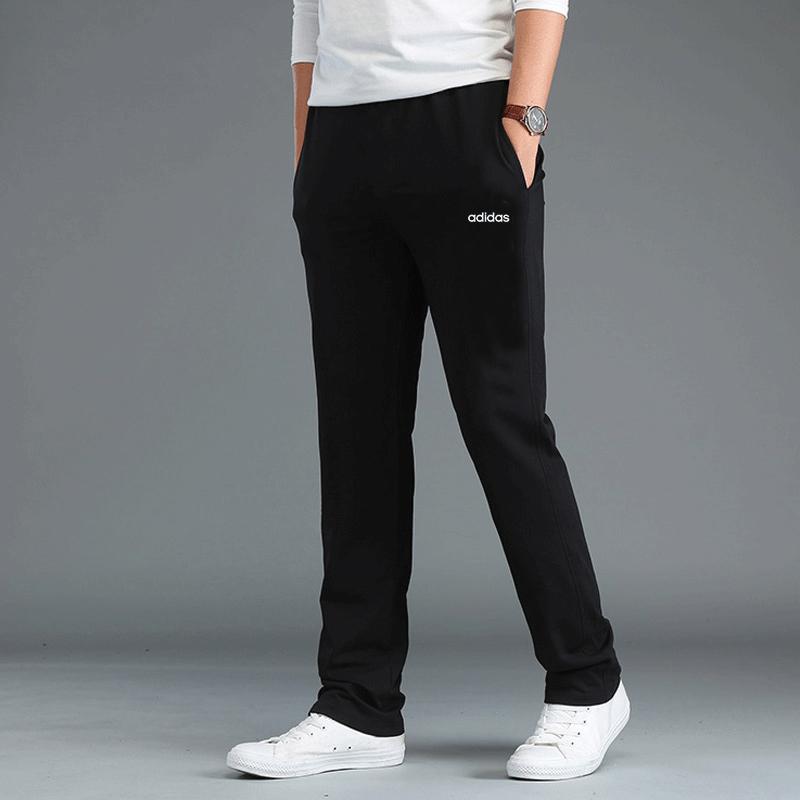 Adidas阿迪达斯长裤男运动裤春季新款裤子男直筒宽松休闲小脚裤男