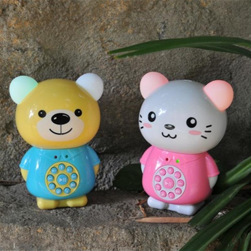和乐熊早教机故事机抗摔智能玩具婴幼儿童MP3宝宝音乐益智早教机