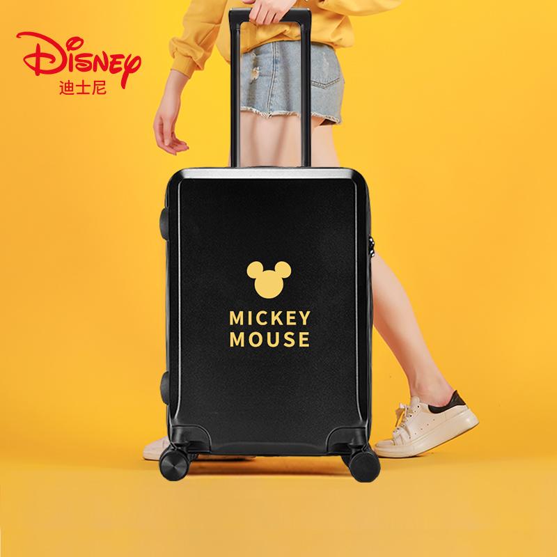 寸登机箱子 20 网红密码拉杆箱万向轮米奇旅行箱 ins 迪士尼行李箱女
