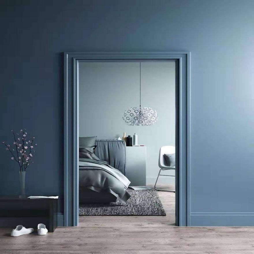 绍立素色现代简约卧室亚麻无缝墙布纯色客厅背景墙无纺布壁布