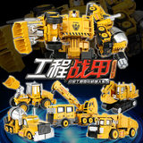 Boy alloy version of the Transformers Project Car Man Hercules Children's Complex Robot Model