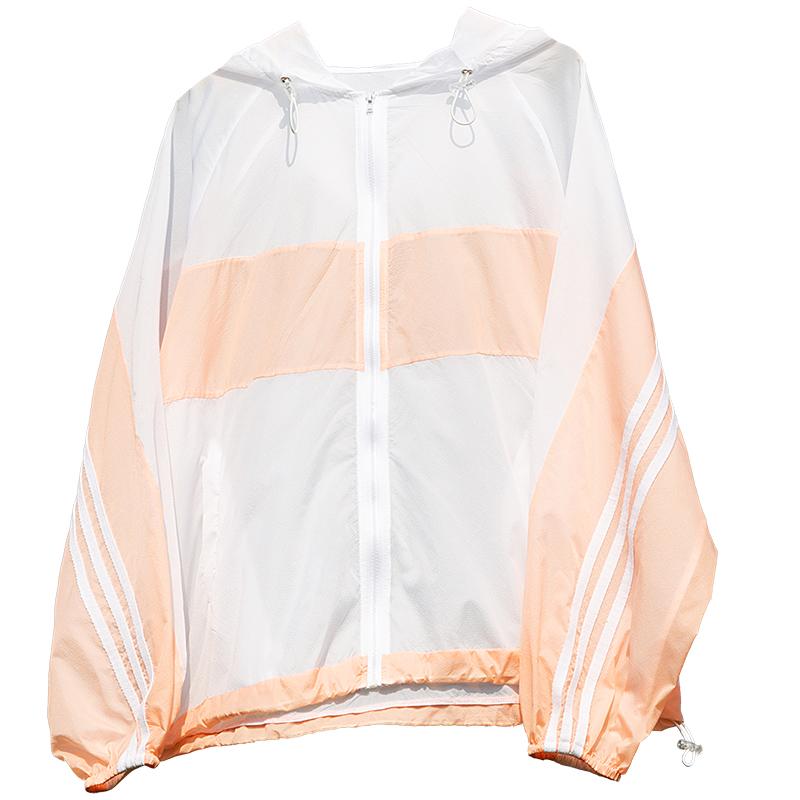 防晒衣户外运动风衣女皮肤衣防紫外线轻薄透气防晒服晨跑跑步外套