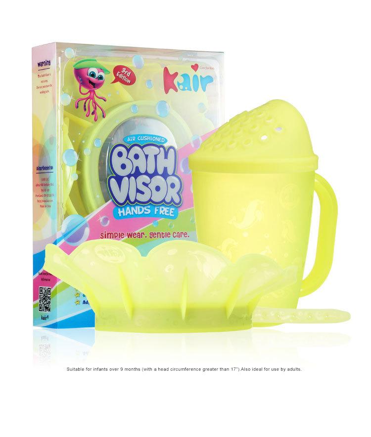 第三代Kair美国儿童硅胶洗头帽婴幼儿洗发帽宝宝浴帽防水帽可调节