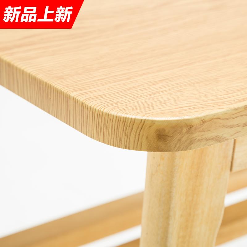 实木阳台桌椅三件套组合茶几卧室室内现代简约休闲创意实木小桌椅