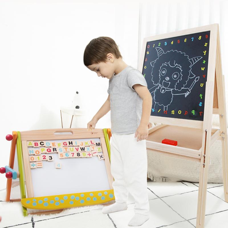 可来赛画画板宝宝黑板1-3岁2涂鸦板儿童婴幼儿彩色磁性写字板玩具