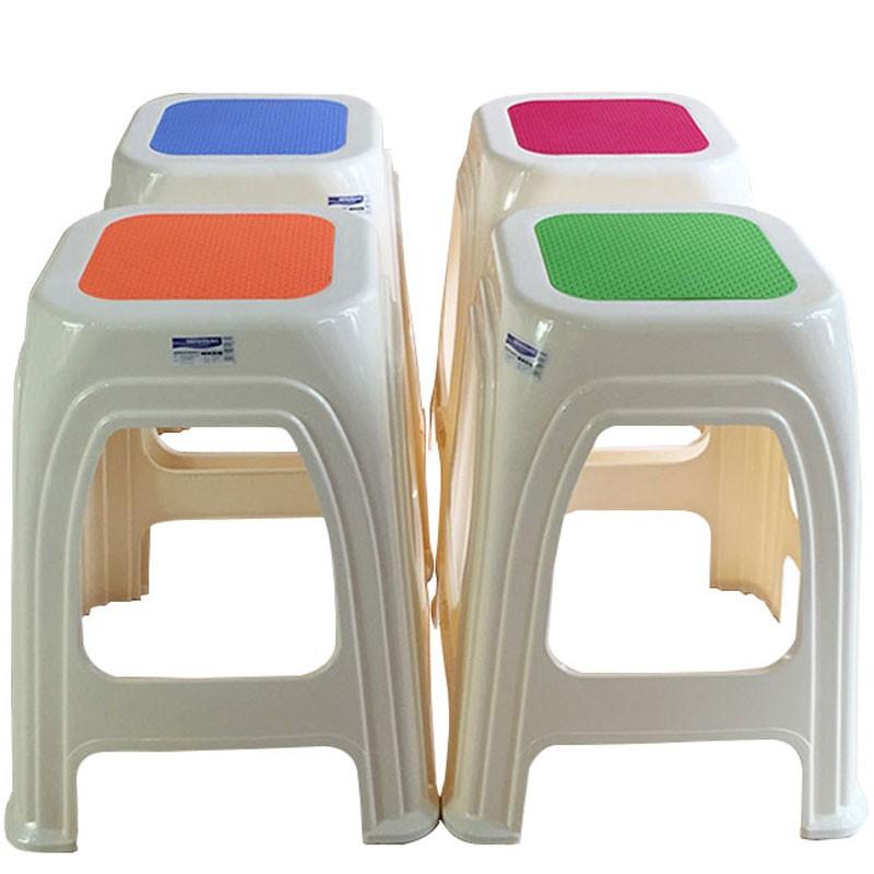 现代简约塑料凳子 加厚收纳餐桌成人高凳浴室矮凳熟料特稳固