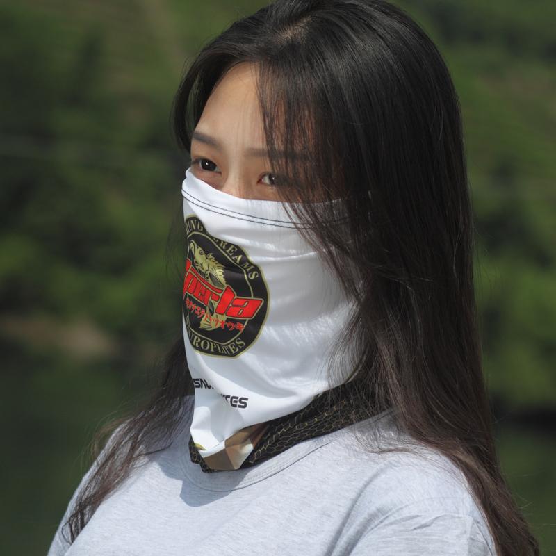 户外防晒钓鱼帽太阳帽路亚围脖头巾头套男女冰袖防晒装备冰丝护袖