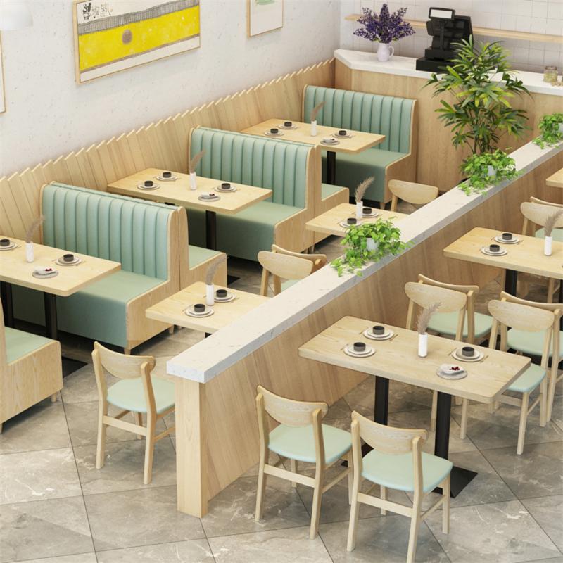品饮料快餐店桌椅组合