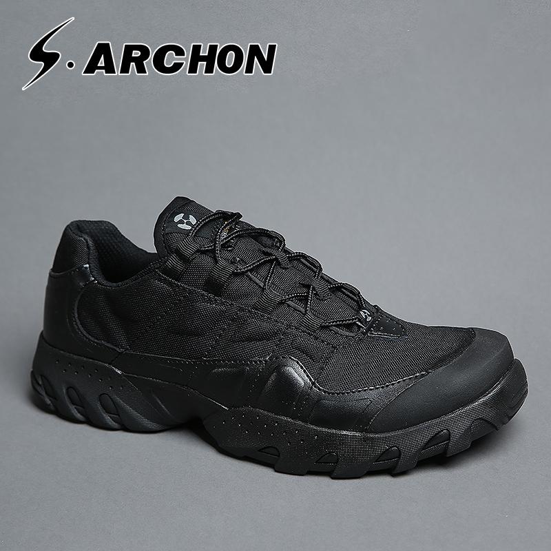 执政官春秋户外超轻沙漠战术作战陆战军靴男特种兵登山鞋防水透气