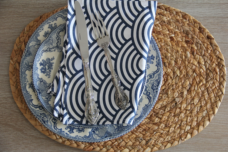 出口美國美式手工草編西餐墊歐美隔熱墊北歐盤墊防燙墊桌墊尚比亞