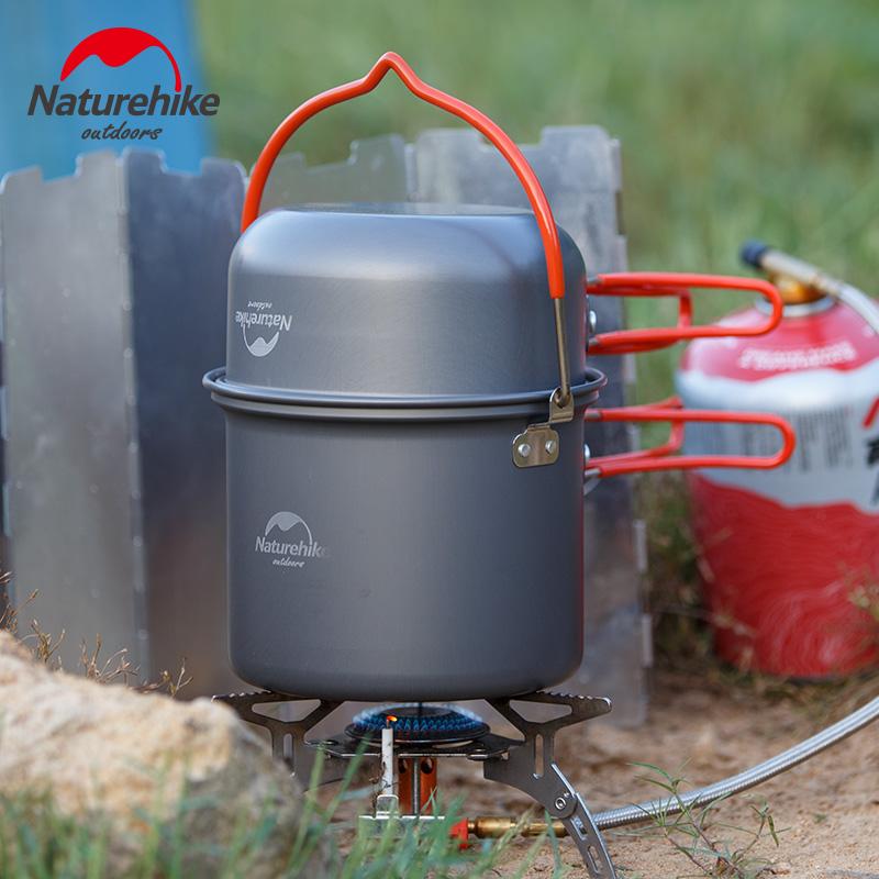 戶外鍋具炊具 便攜野營吊鍋套鍋野炊鍋 野外露營裝備餐具套裝用品