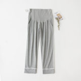 Pregnant women sleeping pants autumn and winter cotton home pants outside wearing casual pants size 200 pounds loose belly pants