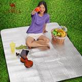Camel outdoor moisture pad portable waterproof picnic lawn mat picnic mat picnic mat tent pad cushion spring outing