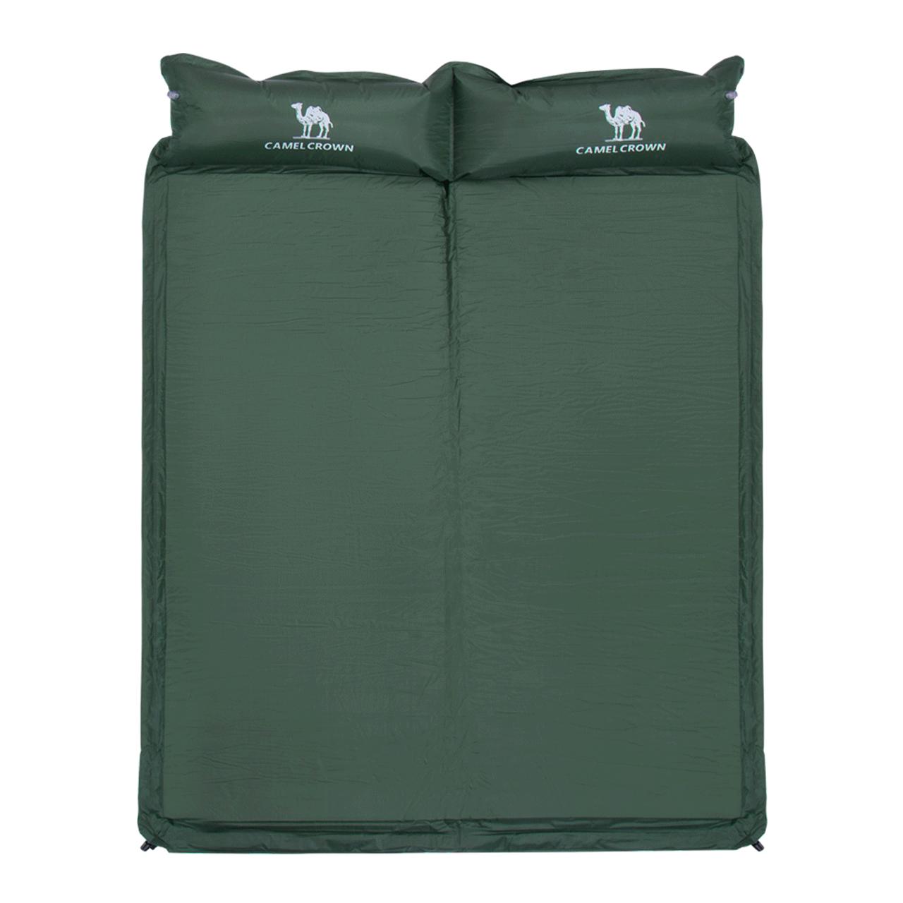 骆驼自动充气垫床垫双人防潮垫露营加厚午休垫子户外地垫帐篷睡垫