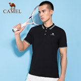 Ms. Slim was thin camel sportswear summer POLO shirt lapel short-sleeved T-shirt male fashion new blouse