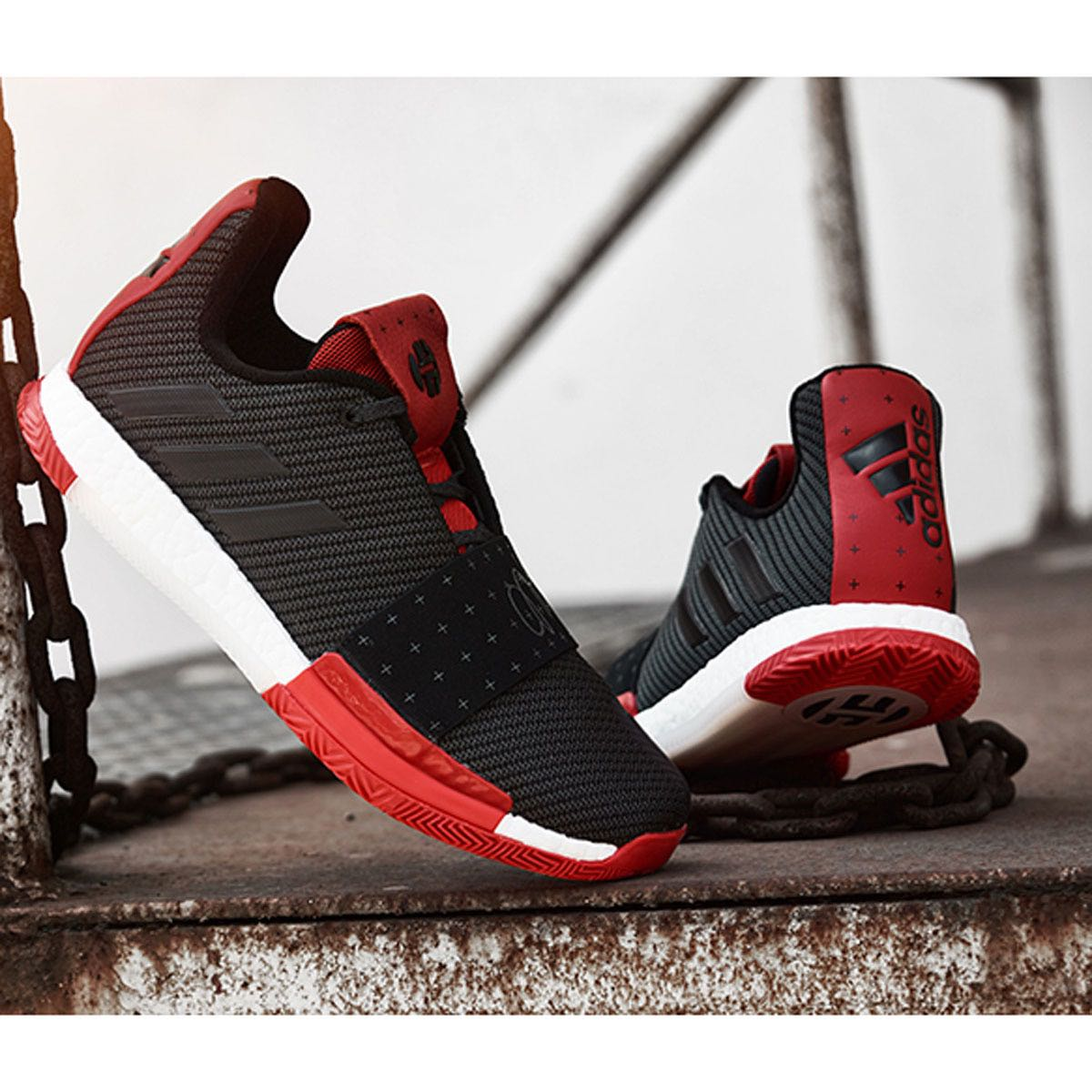 Adidas Harden Vol.3 哈登3代 首发黑白男子实战篮球鞋 G