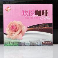 云南特产牦牛奶咖啡玫瑰黑糖青稞咖啡速溶大理丽江耗牛奶咖啡粉 (¥15)