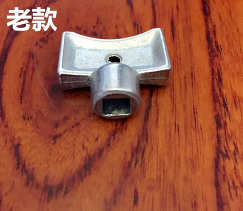 散热片配件放气钥匙手动放气阀排水钥匙扳手 暖气片排气阀开关阀