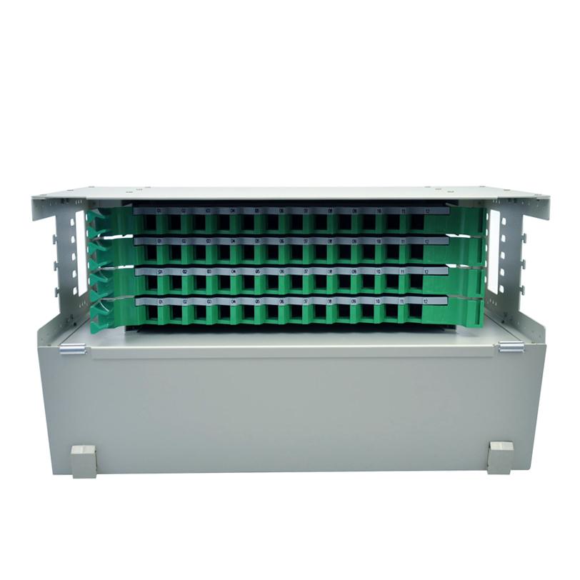 光纤配线箱架单元体束状尾纤熔纤盘电信 ODF 芯 48 菲尼特 Pheenet