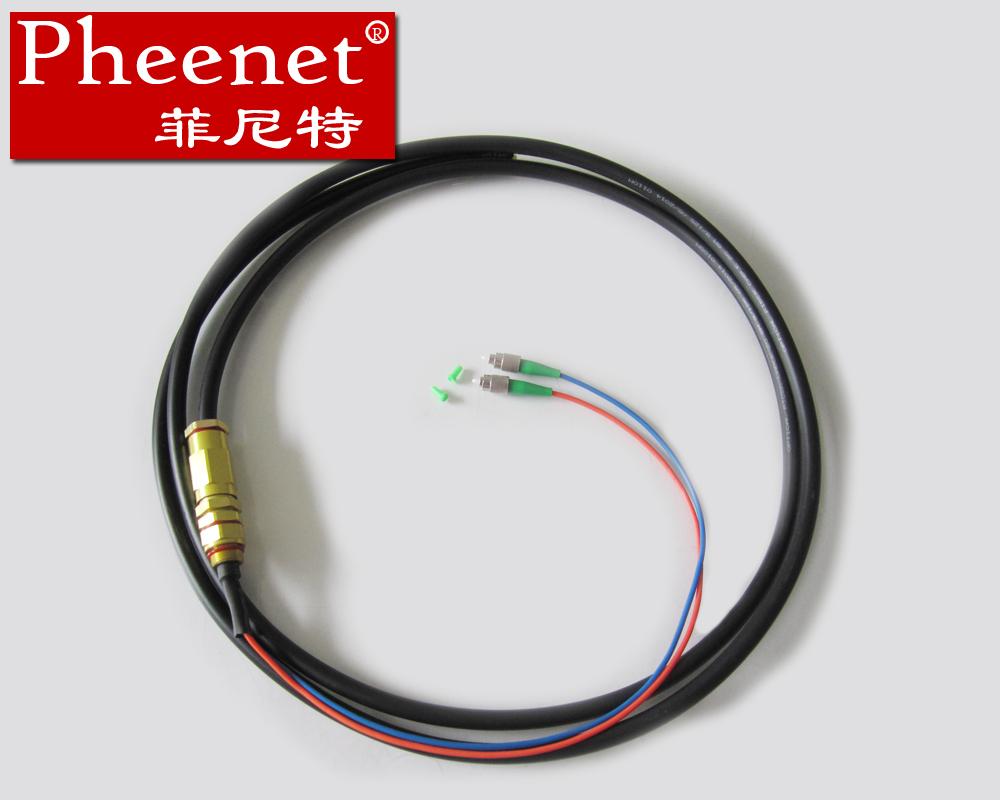 防水尾纤 米单模双芯防水尾缆 3 FC 菲尼特 Pheenet