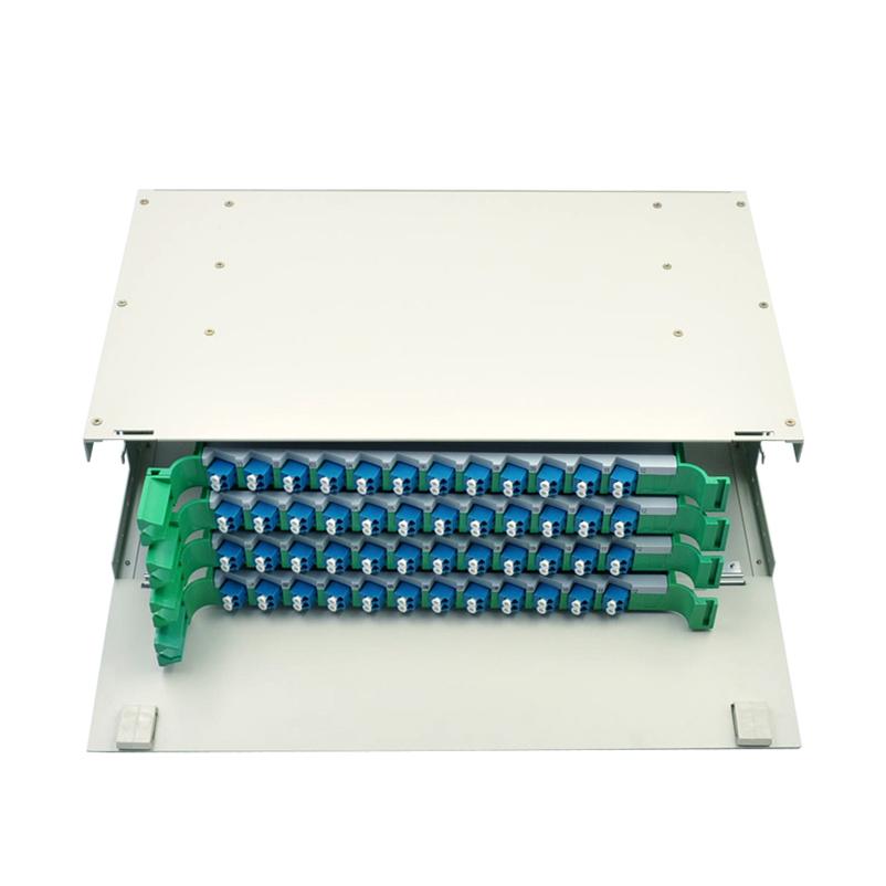 单模单元体熔纤盘 LC 光纤配线箱架满配 ODF 芯 96 菲尼特 Pheenet