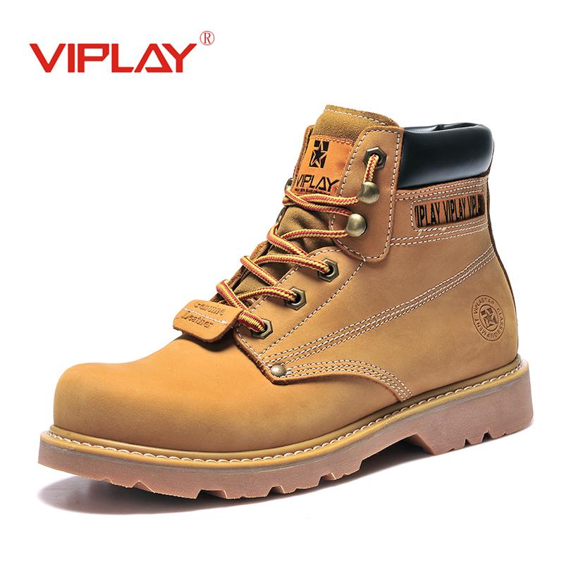 马丁靴男大黄冬季男靴中帮工装军靴子高帮男鞋沙漠短靴潮情侣黄靴